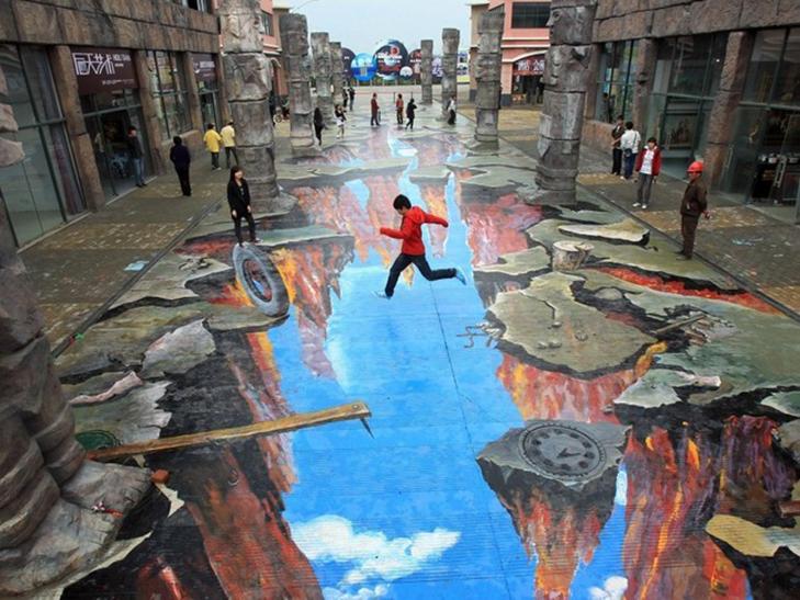 40 неймовірних 3D малюнків на асфальті - фото 15