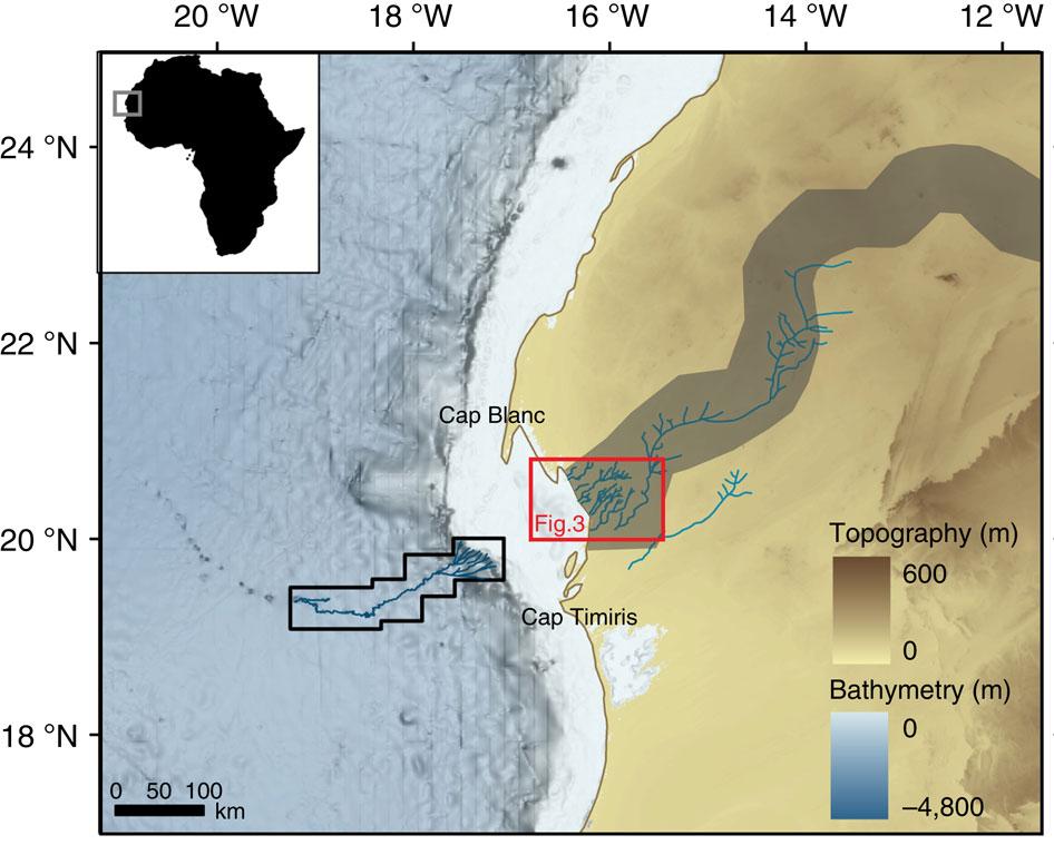 Під пісками Сахари виявили величезну стародавню річку - фото 3
