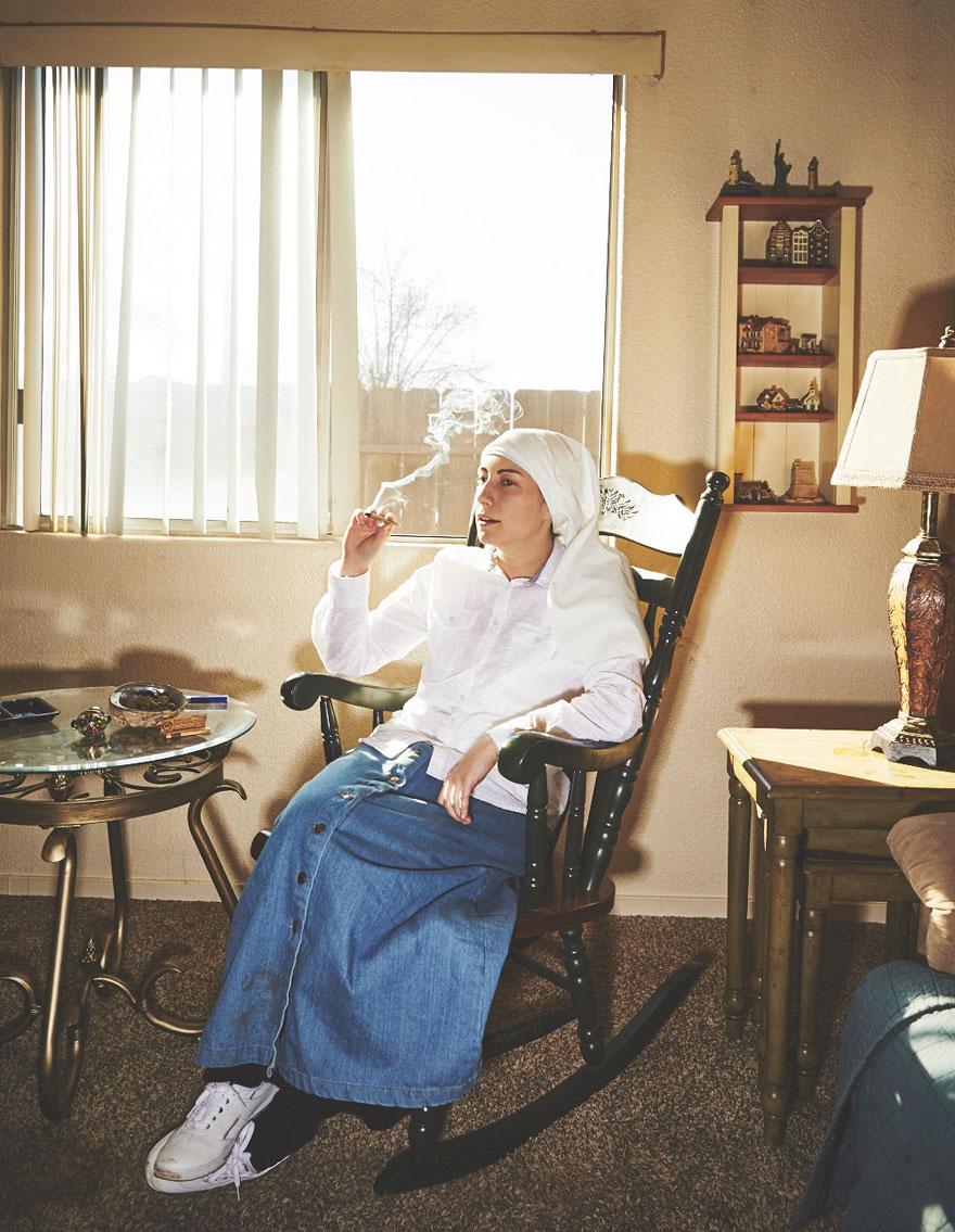Як американські монахині вирощують марихуану - фото 4