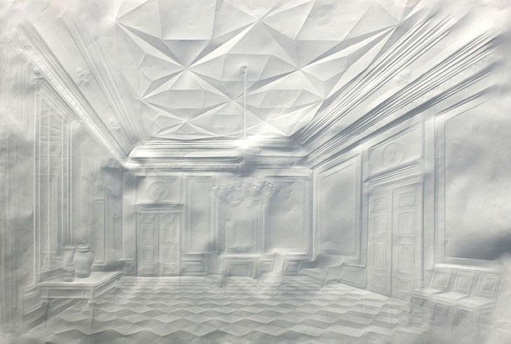 Картины без кисти Как рисуют бумажные сюжеты - фото 1