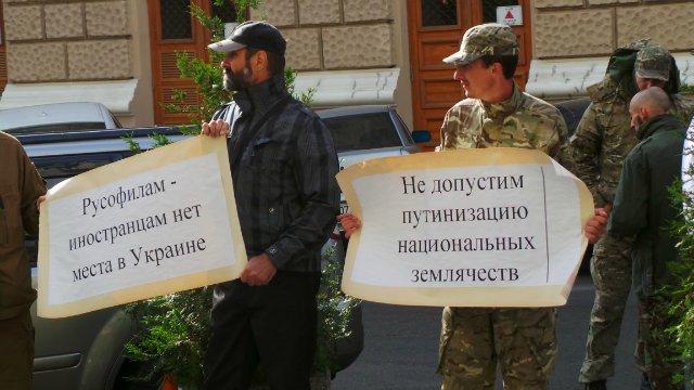 """""""Правий сектор"""" зірвав сепаратистську сходку в Одесі (ФОТО) - фото 1"""