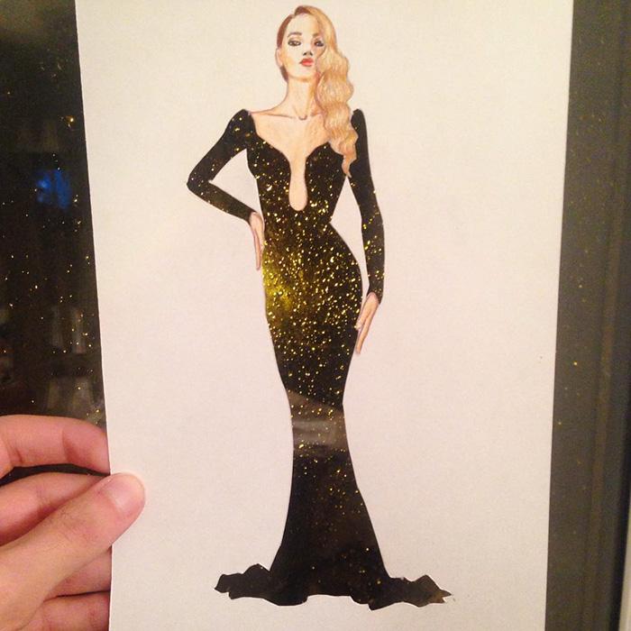 Американець створює сукні з сірників та гранату - фото 2