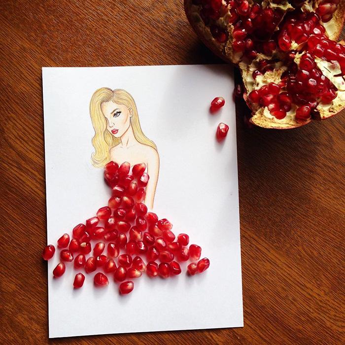 Американець створює сукні з сірників та гранату - фото 3
