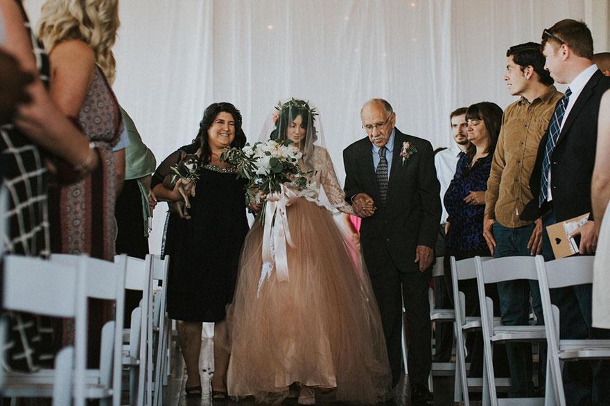 Як паралізована наречена приголомшила коханого на весіллі  - фото 3