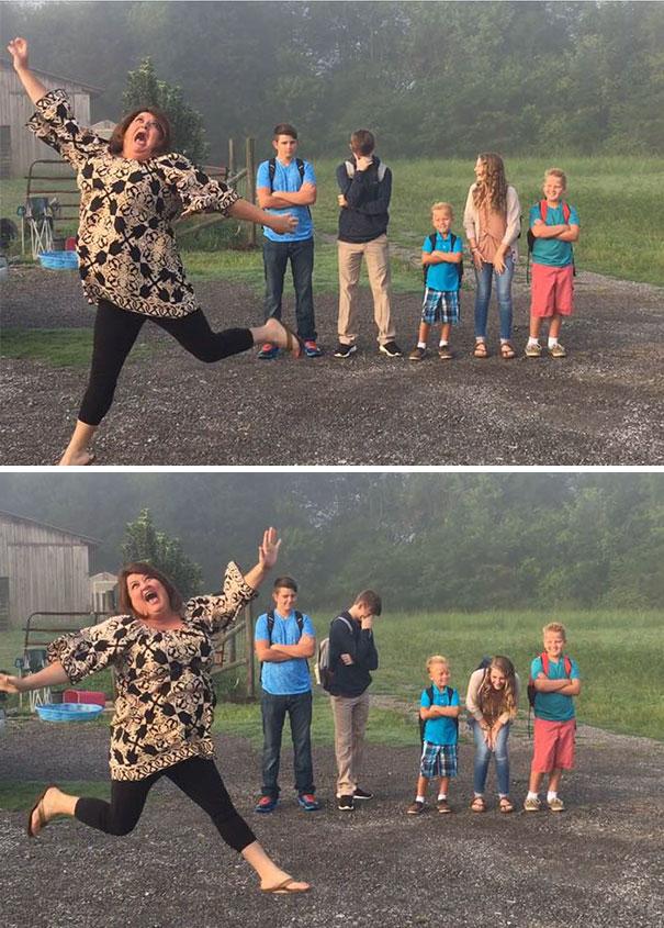 """Як батьки """"сумують"""", коли їхні діти йдуть до школи після літніх канікул  - фото 1"""