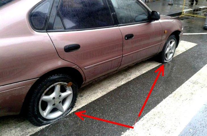 30 суворих покарань для тих, хто паркується, як мудак - фото 23