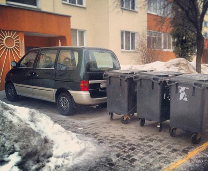 30 суворих покарань для тих, хто паркується, як мудак - фото 29