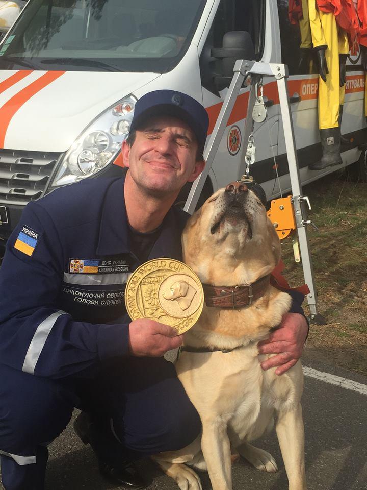 Зорян Шкіряк і пес-чемпіон, архівне фото - фото 1