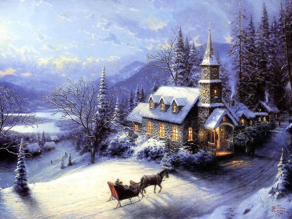 Дивовижні різдвяні картини, які створять святковий настрій  - фото 4
