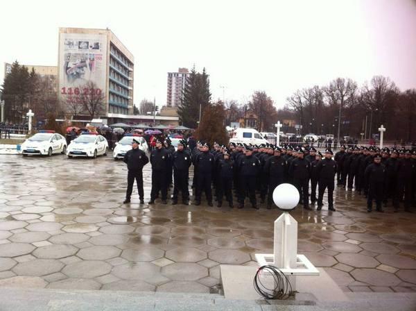 Вінницька поліція готується до складання присяги - фото 3