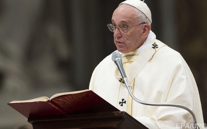 Папа Римський помолився за ліквідаторів Чорнобиля з білорусами та українцями - фото 1