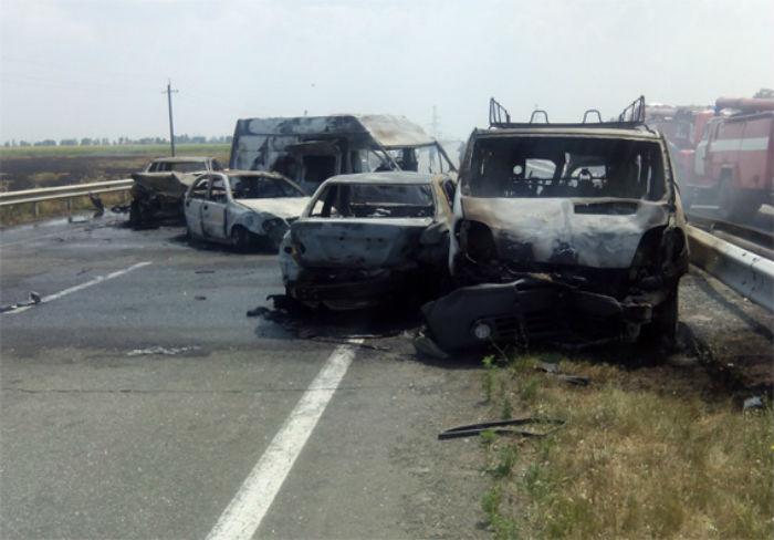 На трасі Київ - Одеса сталась жахлива аварія (ФОТОФАКТ) - фото 1