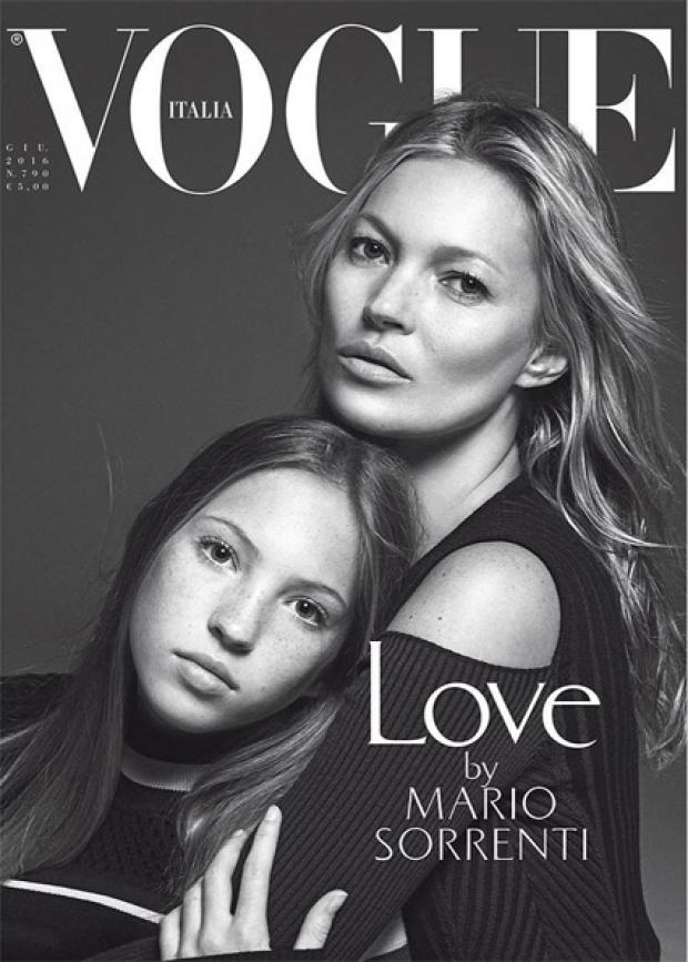 Кейт Мосс з донькою засвітилась на обкладинці глянцю - фото 1