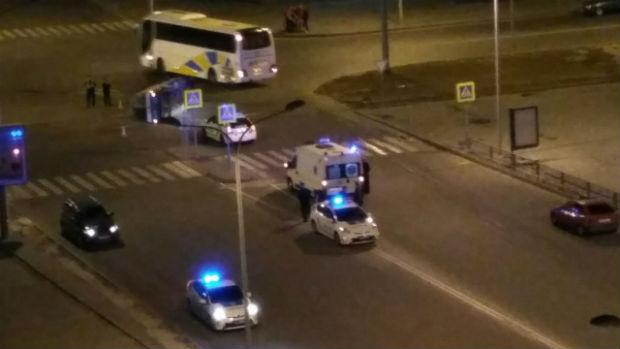 У Харкові позашляховик протаранив мікроавтобус - фото 2
