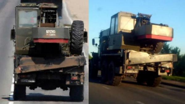 """Bellingcat: Ракети того ж типу, що збили """"Боїнг"""", виявлені в колоні російської техніки на кордоні з Україною (ФОТО, ВІДЕО) - фото 4"""