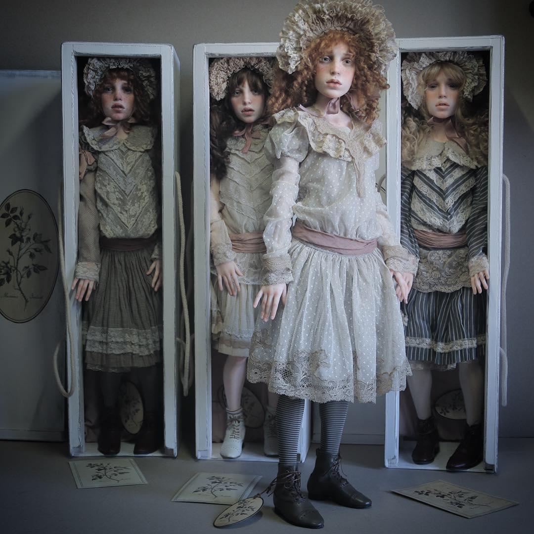 Як виглядають ляльки, яких можна сплутати з людьми - фото 1