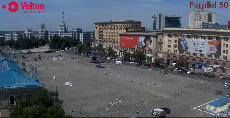 У центрі Харкова розбирають фан-зону - фото 1