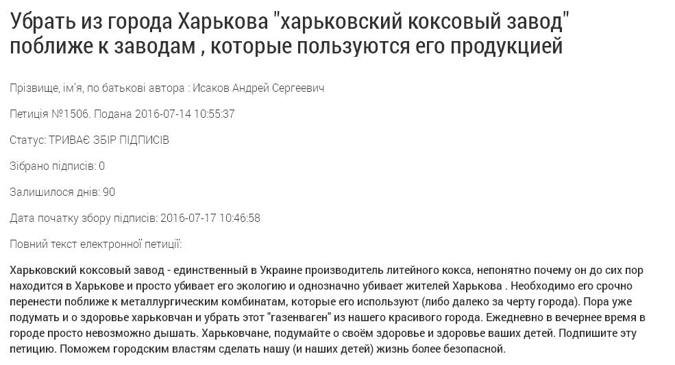 Харків'яни вимагають від Кернеса прибрати