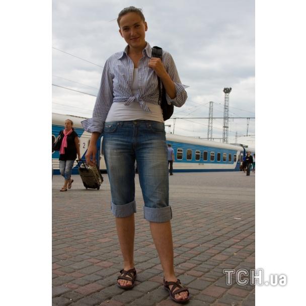 Як Надя Савченко пухне від голоду - фото 2