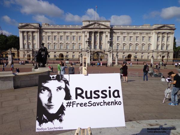У світі виходять на вулиці з вимогою звільнити Савченко (ФОТО) - фото 1