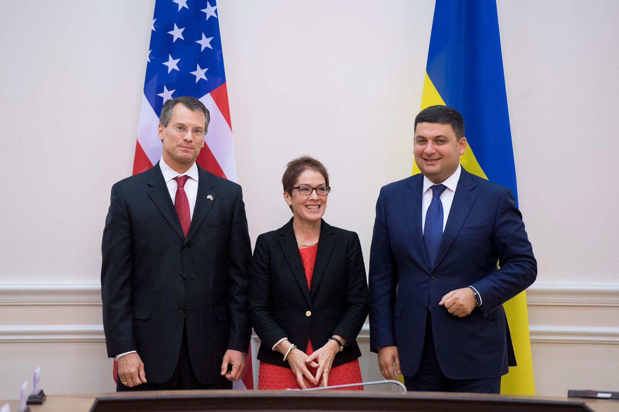 Гройсман зустрівся з делегацією США та обговорив реформи на митниці і у прикордонників - фото 1