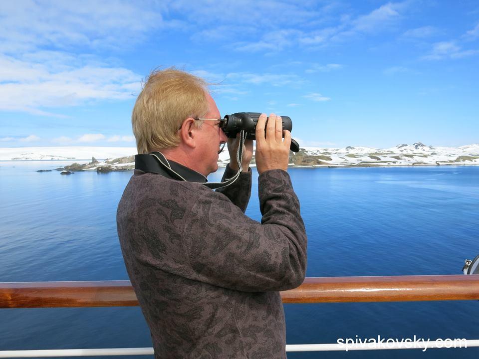 Як український освітянин розважається на Північному полюсі - фото 1