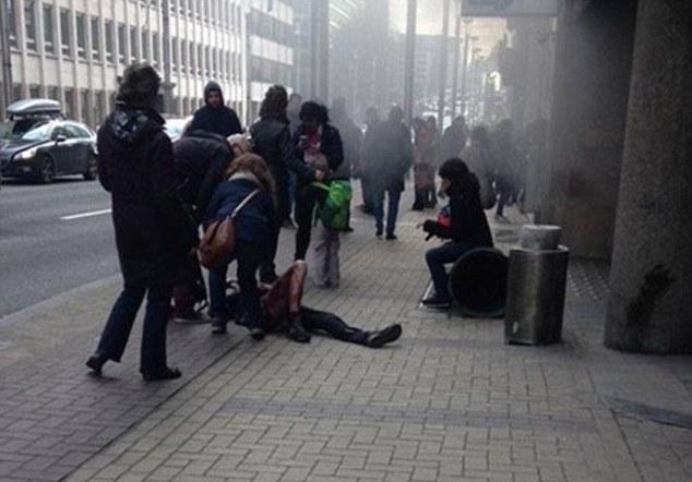 Як брюссельська пара цілувалася серед поранених - фото 2