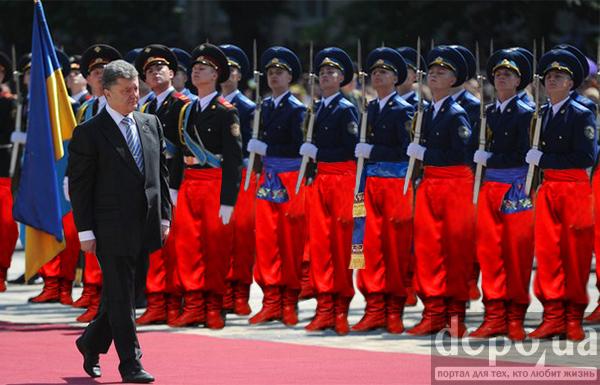 В Киеве провели флешмоб ко Дню Национальной гвардии Украины - Цензор.НЕТ 9009