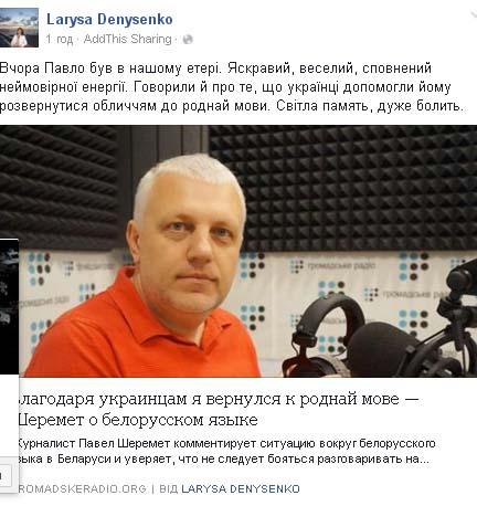 Соцмережі про причини вбивства Шеремета: Журналістика чи російський слід  - фото 12