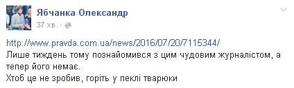 Соцмережі про причини вбивства Шеремета: Журналістика чи російський слід  - фото 10