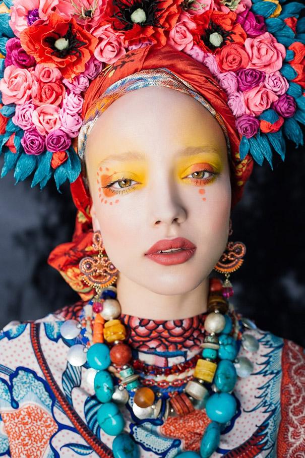 Фотосесія дівчат зі слов'янськими вінками і сучасним макіяжем підірвала мережу - фото 8