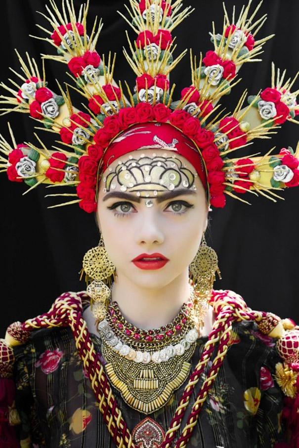 Фотосесія дівчат зі слов'янськими вінками і сучасним макіяжем підірвала мережу - фото 5