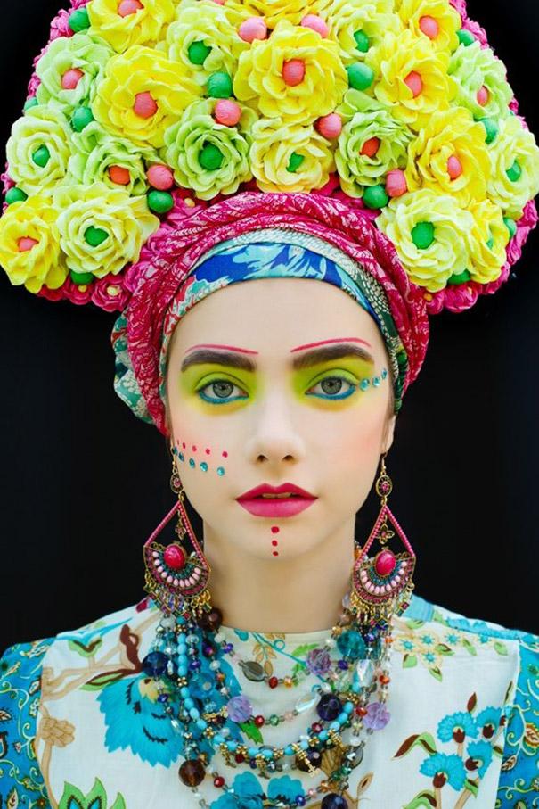 Фотосесія дівчат зі слов'янськими вінками і сучасним макіяжем підірвала мережу - фото 7