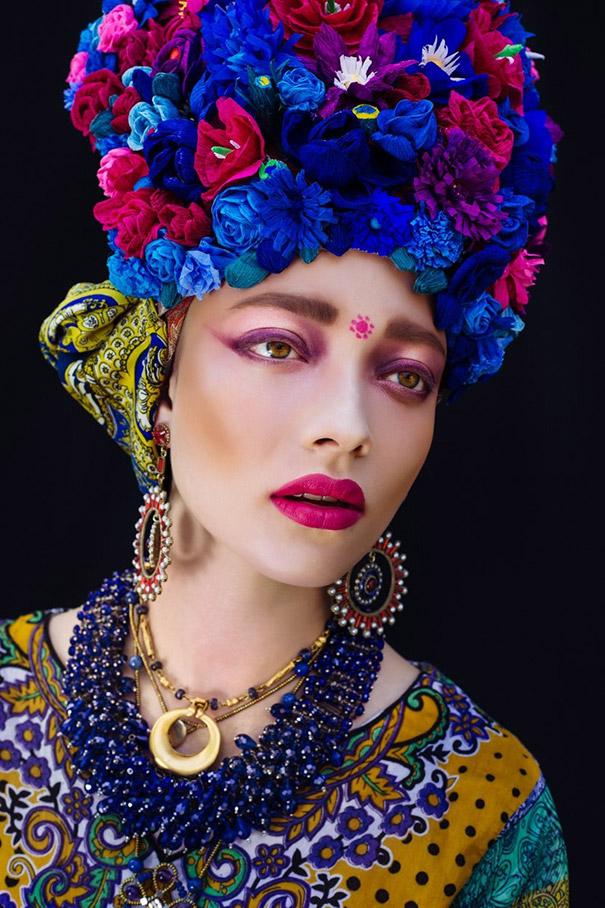 Фотосесія дівчат зі слов'янськими вінками і сучасним макіяжем підірвала мережу - фото 6