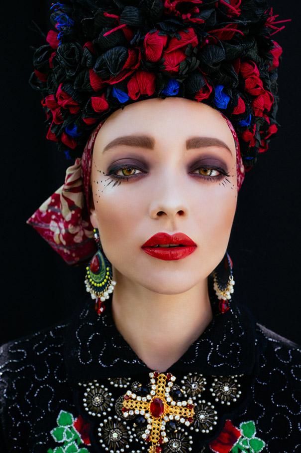 Фотосесія дівчат зі слов'янськими вінками і сучасним макіяжем підірвала мережу - фото 4