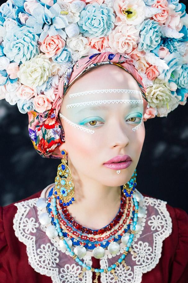 Фотосесія дівчат зі слов'янськими вінками і сучасним макіяжем підірвала мережу - фото 3