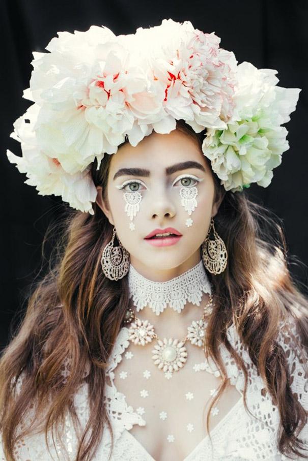 Фотосесія дівчат зі слов'янськими вінками і сучасним макіяжем підірвала мережу - фото 2