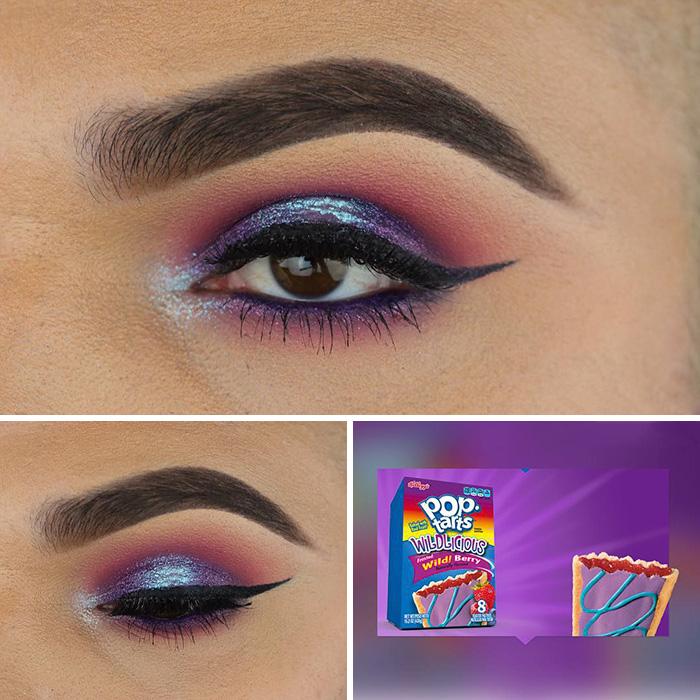 Як відомий блогер робить собі макіяж під колір обгортки від чипсів  - фото 2