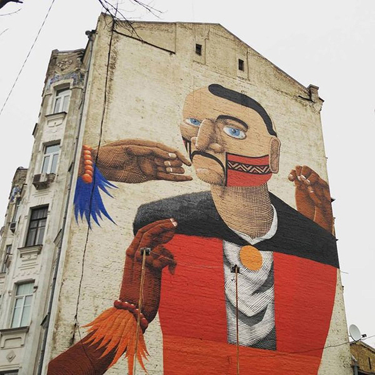 Каталог муралів Києва. Частина 2 - фото 9