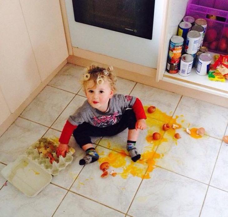 20 фотографій про те, чому з дітьми ніколи не буває нудно - фото 17