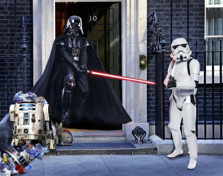 Як виглядали б Дарт Вейдер, майстер Йода та Чубака у ролі світових лідерів  - фото 4