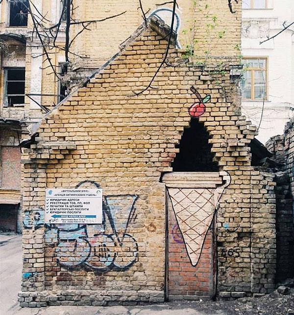ТОП-10 незвичайних стрит-арт об'єктів у світі  - фото 10