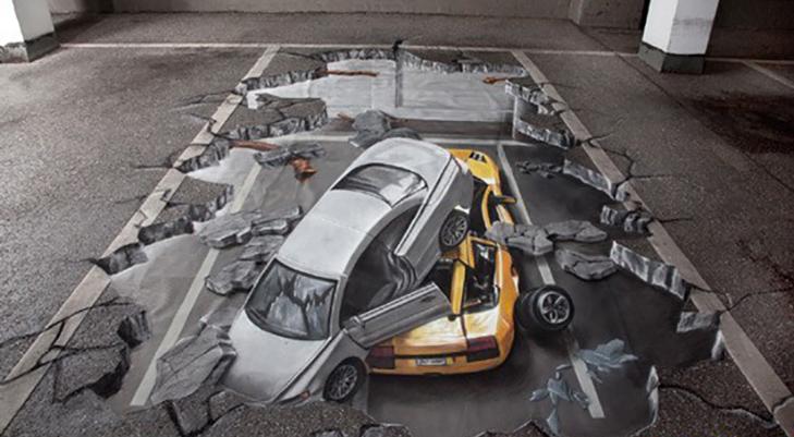 40 неймовірних 3D малюнків на асфальті - фото 9