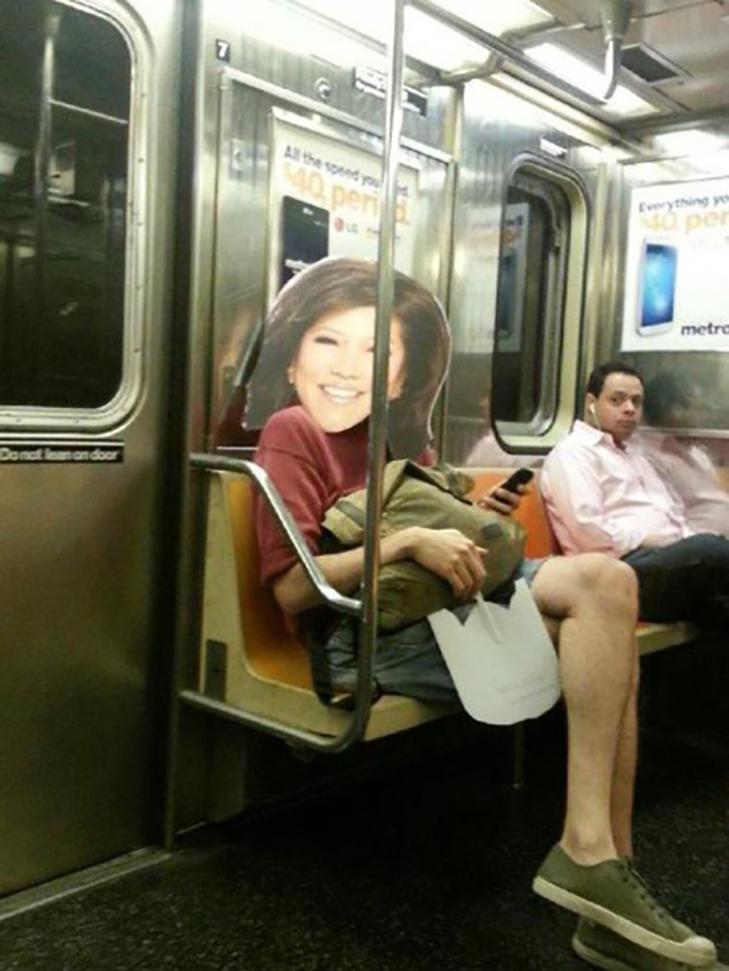 35 неймовірних диваків у метро - фото 15
