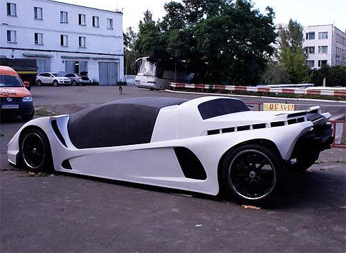 В Україні розробляють перший суперкар (ФОТО) - фото 1