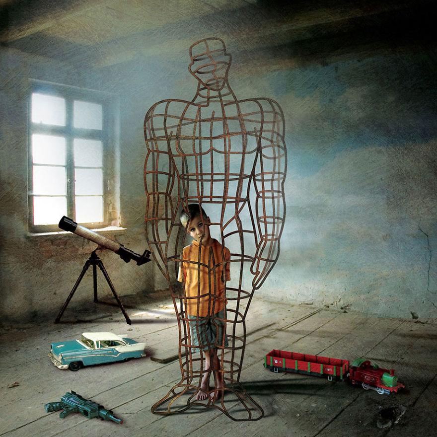 ТОП-7 робіт польського сюрреаліста, які змусять здригнутися - фото 5