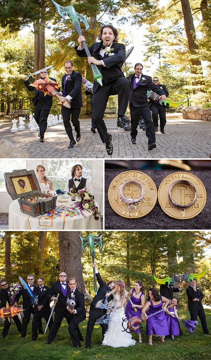 20 найкрутіших тематичних весіль - фото 7