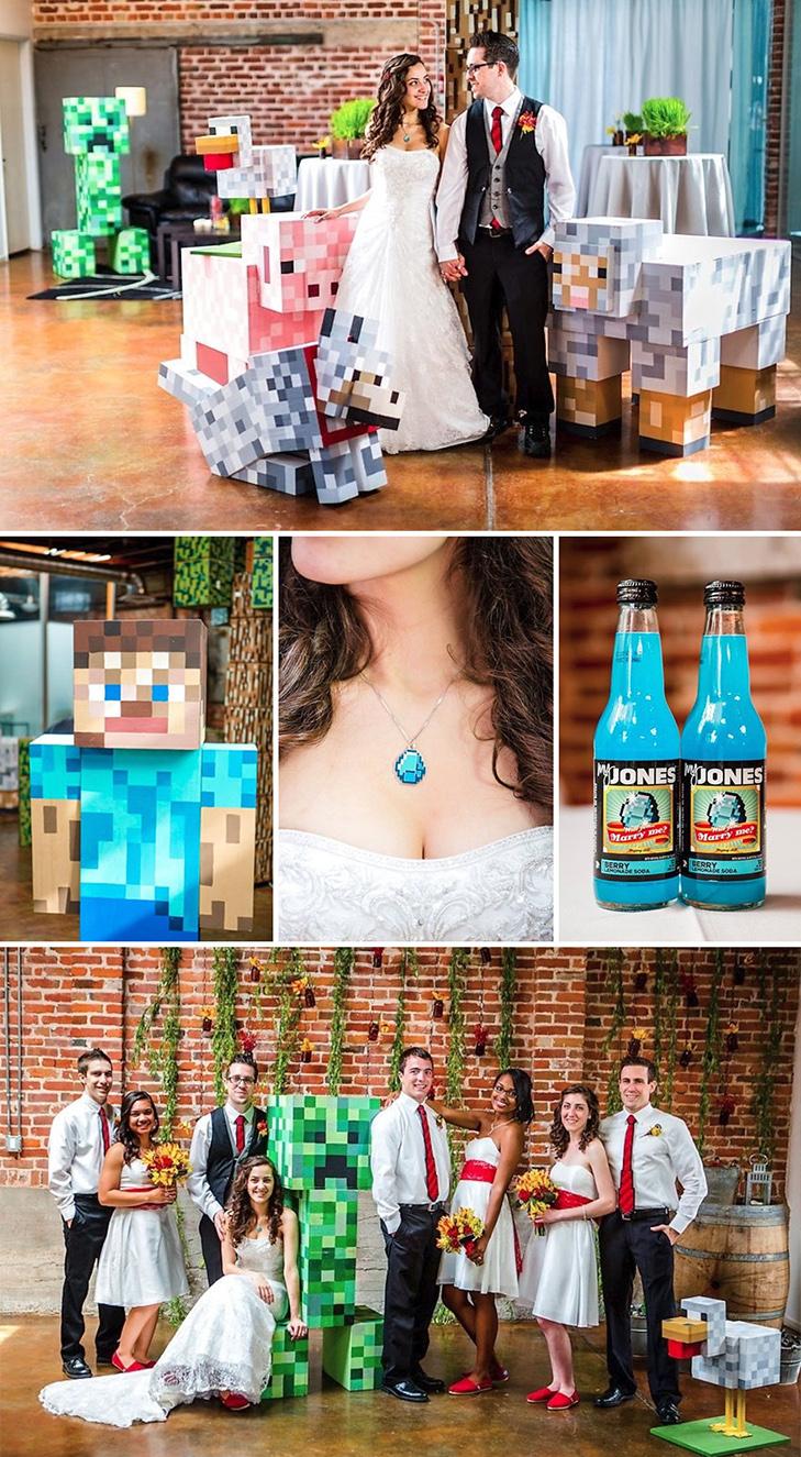 20 найкрутіших тематичних весіль - фото 14