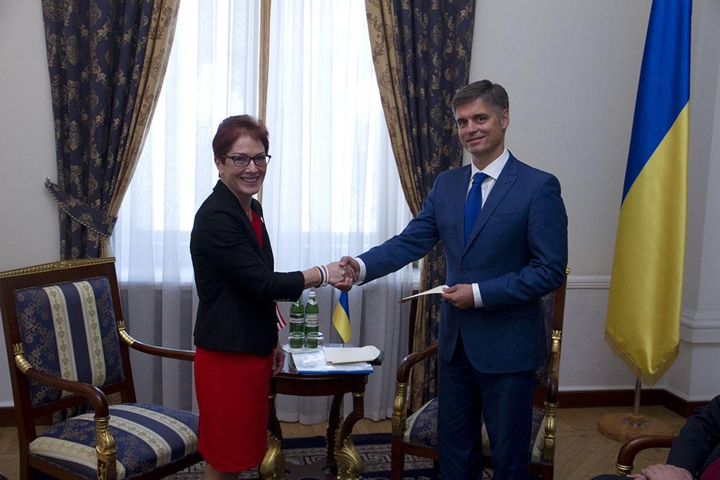 Новий посол Сполучених штатів Марі Йованович прибула в Україну - фото 1