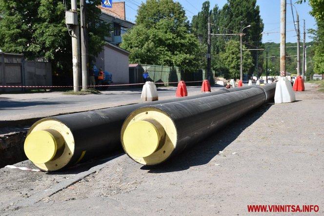 У Вінниці модернізуть 9 км теплотраси - фото 1